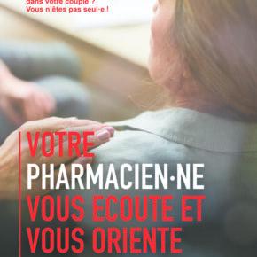 Victime de violence conjugale? Votre pharmacien peut vous aider.