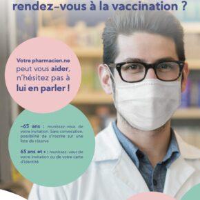 Besoin d'aide pour prendre votre rendez-vous à la vaccination?